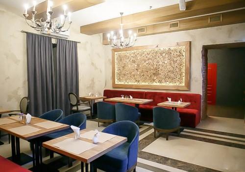 Мебель для ресторана белорусской кухни «Draniki»