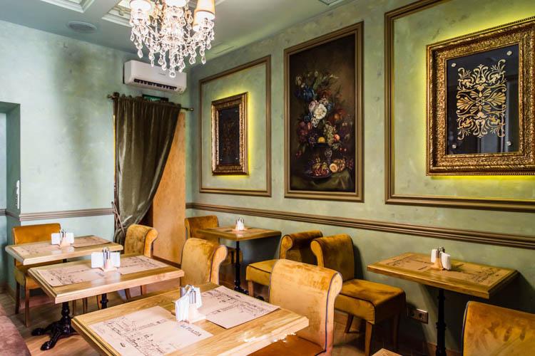 Мебель для ресторана «La Piazza (Ла Пьяцца)»