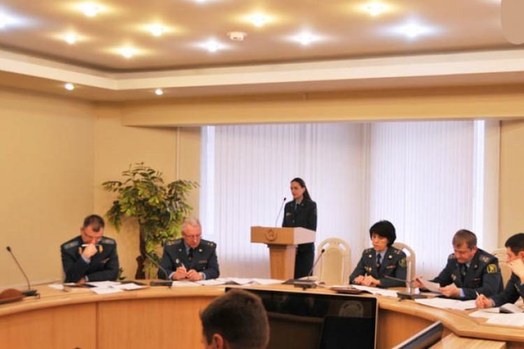Мебель для Минской региональной таможни